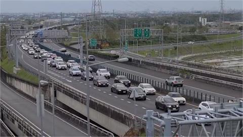 快新聞/ 清明連假第3天「國道9大壅塞路段」曝 高公局籲多利用11條替代道路