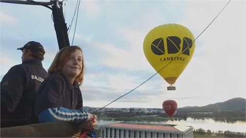 11歲就當熱氣球副駕駛!澳洲小男孩已飛120趟 立志成飛行員