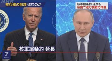 美俄總統昨日通電話 同意核武限制條約延5年