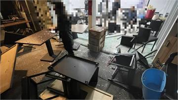 跨年夜不寧!離職員工債務糾紛餐廳跨年夜遭惡煞砸店