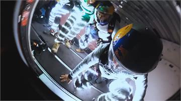 德州小鎮夜晚不明光團 跳傘團隊實驗「人造馬爾法之光」