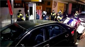 中警臨檢路邊違停 意外查獲多包毒品