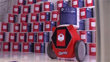 如廁最怕發現衛生紙沒了...別擔心!最新機器人幫你送來