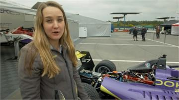 疫情期間沒比賽 美女學霸女車手轉當工程師