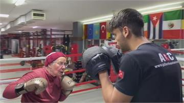 75歲「拳擊阿嬤」 以運動對抗帕金森氏症