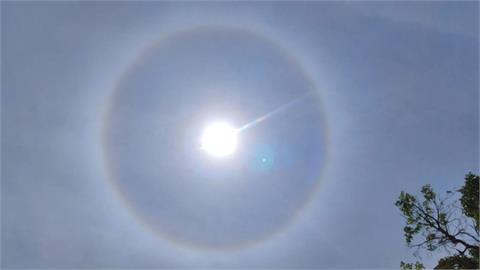 快新聞/台東出現「日暈」美景 民眾直呼好漂亮:今天是好日子