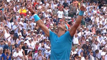 球王納達爾衛冕 生涯第11座法網冠軍