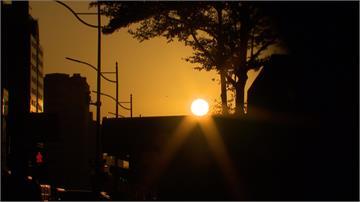 (影)懸日美景現台北街頭  最佳拍攝時段全公開