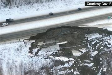 美阿拉斯加州7.0強震 搖2分鐘地塌屋裂