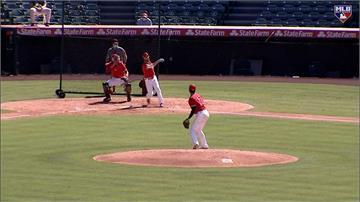 MLB/模擬賽初登板 大谷8保送、柯爾5局6K