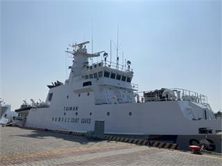 快新聞/海巡艦艇塗裝增「TAIWAN」 張惇涵證實「蔡英文指示」