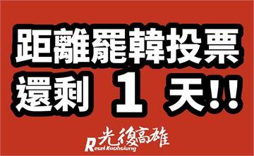 快新聞/就在明天!史上空前直轄市長罷免投票揭韓國瑜去留...記得戴口罩帶身分證