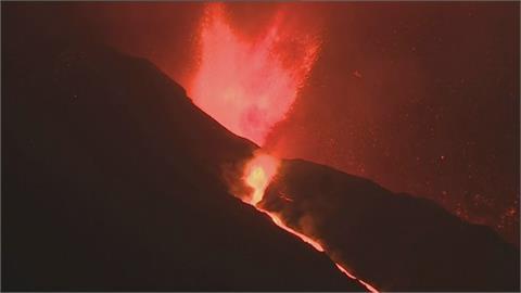 雪上加霜!西班牙火山爆發又地震 岩漿吞噬教堂、民宅 懸崖崩塌