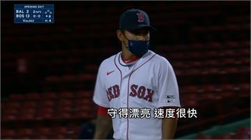 MLB/攻守俱佳!林子偉戴口罩代打敲首安 防守策動精彩雙殺