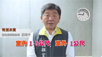陳時中、王惠美領銜主演!彰化拍短片宣導社交距離