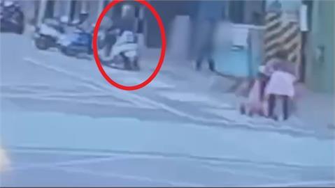 快新聞/泰山林男當街搶奪婦人金項鍊 「3秒得手」騎車逃逸