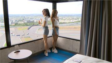 麗寶賽車主題旅店客房看賽車!網美打卡新景點