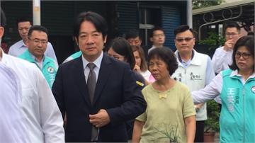 副總統賴清德嘉義參訪 到李承翰家中致哀