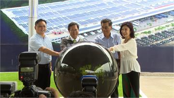 節能減碳!汽車業者打造一萬坪太陽能板屋頂