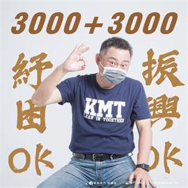 快新聞/開紓困第1槍! 金門縣將發「3000元現金+3000元振興券」