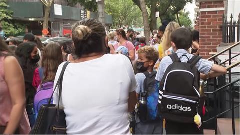 美死亡率上升!紐約迎開學日 家長開心又害怕