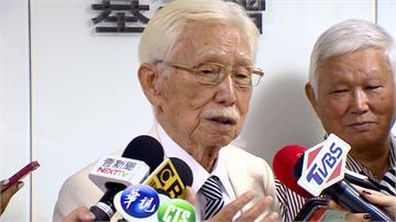 勸王金平組台灣國民黨 辜寬敏:他沒有反對