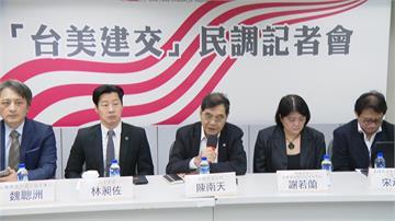 台獨聯盟最新民調!82.5%挺台美建交 建交後國號「台灣國」近4成最高