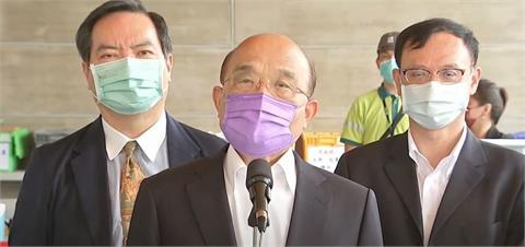 快新聞/蘇貞昌信心喊話用「隔離來阻絕Delta病毒」 自曝未接種第二劑疫苗