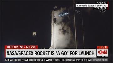 首次發射商業載人火箭SpaceX「飛龍號」成功送4太空人上太空站