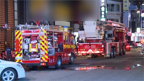 西門町日本連鎖藥妝大樓竄火 疏散39人
