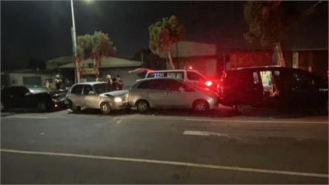 賓士男酒駕連撞3車釀3傷!台中市議員楊典忠腰椎受傷