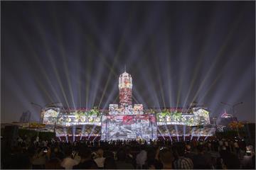 快新聞/國慶府前光雕展10月揭幕 凱道25日深夜起分階段交管