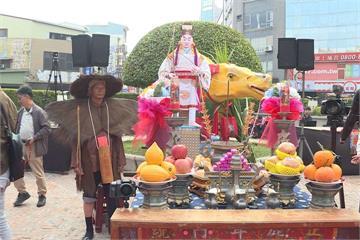 迎春牛、祭芒神 台南正月初十迎春禮登場
