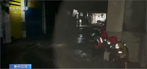 中國壞天氣肆虐 新疆掀沙塵貴州豪雨成災