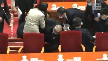 香港前特首董建華人大會議跌倒幸無大礙 林鄭月娥慰問