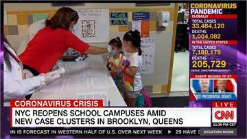 連續七日陽性率維持1.38% 紐約小學復課