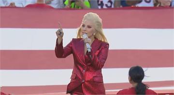 拜登就職典禮 女神卡卡獻唱國歌