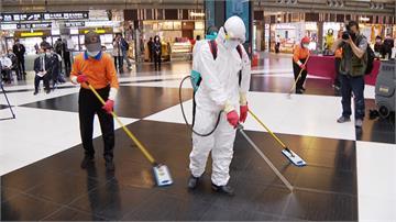 電扶梯全自動清潔!台鐵所有車站每2小時消毒一次