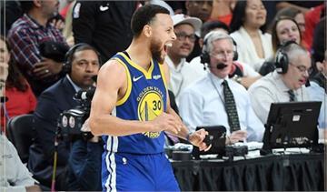 NBA/勇士直落四淘汰拓荒者 連續五年闖進年度決賽