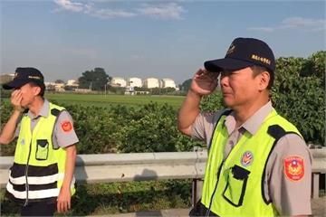 國道警開單遭大貨車追撞 三人當場慘死輪下