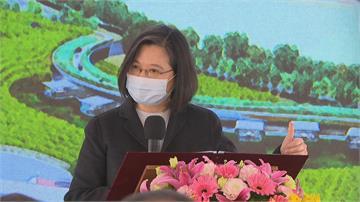 快新聞/「浪漫台3線」龍潭客家茶文化館進度超前 蔡英文比讚力挺市府團隊