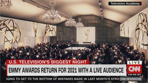 第73屆艾美獎頒獎典禮20日登場 2年來首度實體舉辦