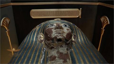 埃及「黃金遊行」法老搬新家 特製古戰車壓路