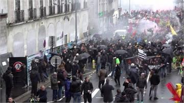 不滿馬克宏年改政策!法鐵罷工邁入第36天