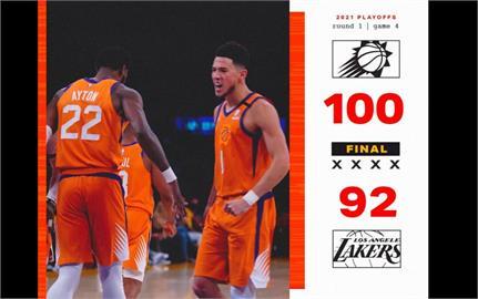 NBA/保羅克服肩傷進18分 太陽季後賽戰績扳成2平