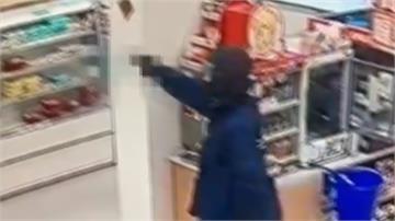 男搶超商ATM開槍劫300萬!換鈔保全大腿中彈