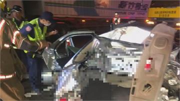 兩度被追撞變廢鐵  2婦人喪命 大貨車駕駛無礙