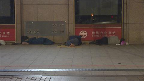 北車累計8名街友確診!台北市擬為700街友接種