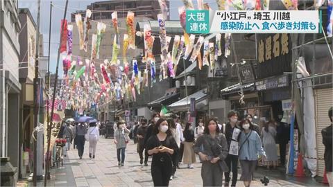 日本疫情延燒 黃金週只見人潮不見錢潮