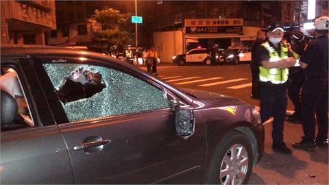金錢糾紛談不攏爆砸車 警方速逮涉案人